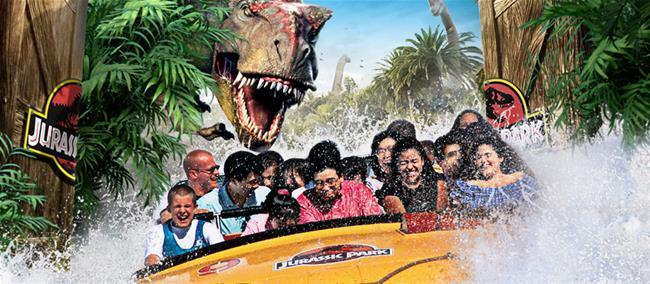 Universal Studios dinosaur