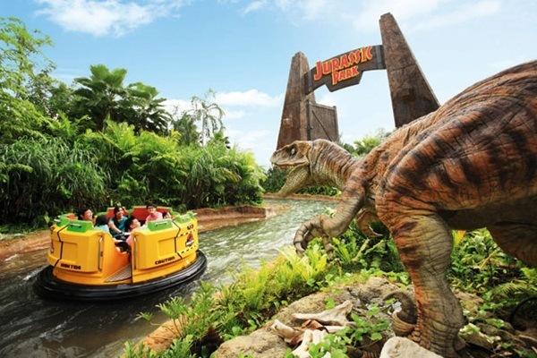 Universal Studios water